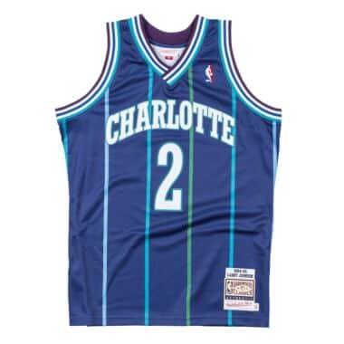 570a1bb2fdb Authentic Jersey Charlotte Hornets Alternate 1994-95 Larry Johnson