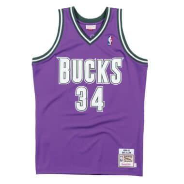 55114e96226f Authentic Jersey Milwaukee Bucks Road 2000-01 Ray Allen