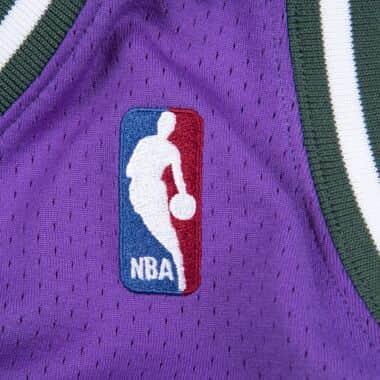 89cd01835463 Authentic Jersey Milwaukee Bucks Road 2000-01 Ray Allen Mitchell ...