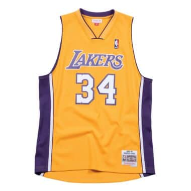 6ea0ad542 Shaquille O Neal 1999-00 Los Angeles Lakers Home Swingman Jersey
