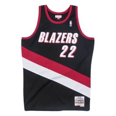 Clyde Drexler 1991-92 Portland Trail Blazers Road Swingman Jersey b3b0ca86b
