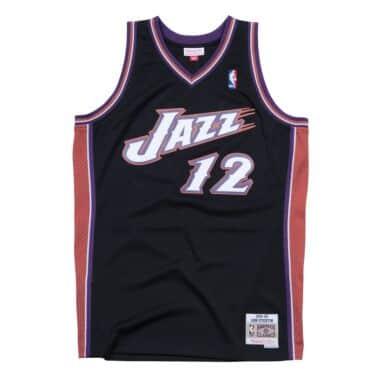 f4c00c5d9 John Stockton 1998-99 Utah Jazz Swingman Jersey