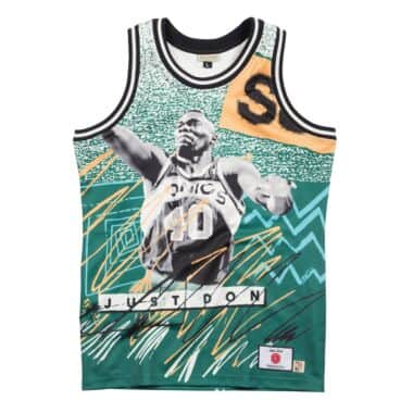 fd568923a Just Don Sublimated Jersey Seattle Supersonics - Kemp + Payton