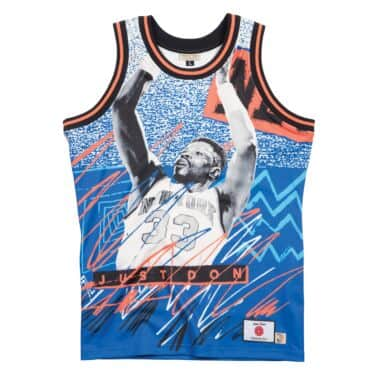 2dbeb0f11cb Just Don Sublimated Jersey New York Knicks - Ewing + Starks