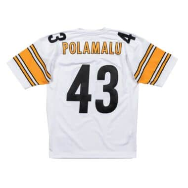 848123f41d9 Trol Polamalu 2005 Authentic Jersey Pittsburgh Steelers Mitchell ...