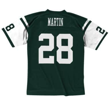 fb08cd621 Curtis Martin 2004 New York Jets Legacy Jersey Mitchell & Ness ...
