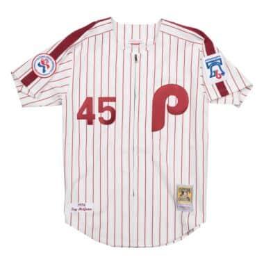 3f6c6496c7a7 Tug McGraw 1976 Home Authentic Jersey Philadelphia Phillies