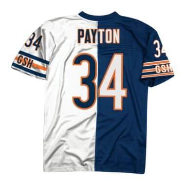 adadd7789 Split Home   Away Legacy Jersey Chicago Bears 2007 Walter Payton ...