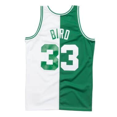 7362753d2 Split Home   Away Swingman Jersey Boston Celtics 1985-86 Larry Bird ...