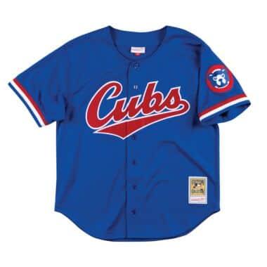 4e87db21874 Authentic Mesh BP Jersey Chicago Cubs 1996 Ryne Sandberg