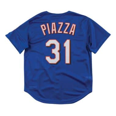 c4e198041 Authentic Mesh BP Jersey New York Mets 1999 Mike Piazza