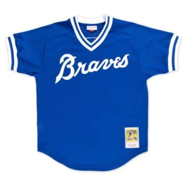 Authentic Mesh BP Jersey Atlanta Braves 1981 Dale Murphy 98fc9bcbc0