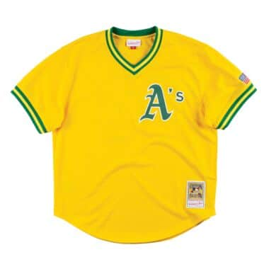 Authentic Mesh BP Jersey Oakland Athletics 1990 Jose Canseco 6df653f58
