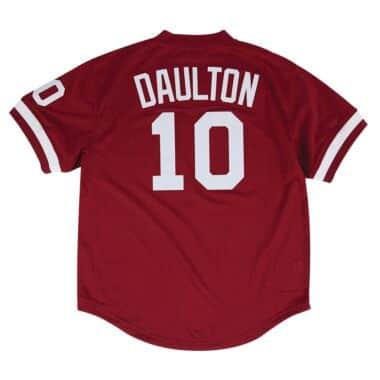 061500315 Authentic Mesh BP Jersey Philadelphia Phillies 1991 Darren Daulton