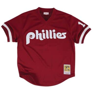 Authentic Mesh BP Jersey Philadelphia Phillies 1991 John Kruk 08c8870e4c5