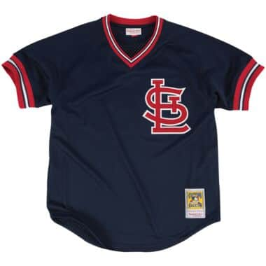 size 40 0bfa4 d3018 Authentic Mesh BP Jersey St. Louis Cardinals 1994 Ozzie Smith