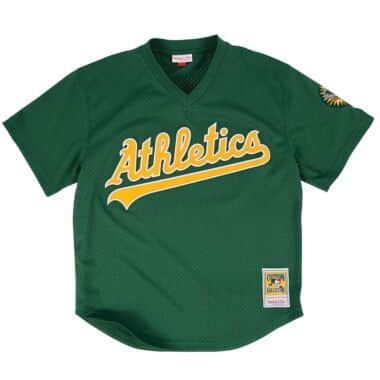 bce9a54be1eb Authentic Mesh BP Jersey Oakland Athletics 1998 Rickey Henderson