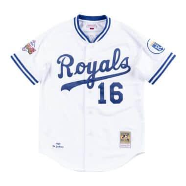 5509e8d14 Authentic Jersey Kansas City Royals Home 1989 Bo Jackson