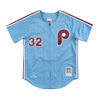 8b4e13133 Authentic Jersey Philadelphia Phillies Road 1980 Steve Carlton