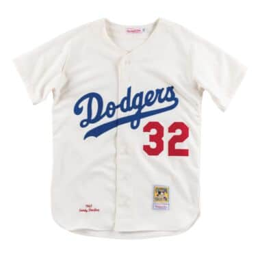 6cdc4315f2a Authentic Jersey Los Angeles Dodgers Home 1963 Sandy Koufax