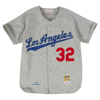 0dbe3acfc0f Authentic Jersey Los Angeles Dodgers Road 1963 Sandy Koufax