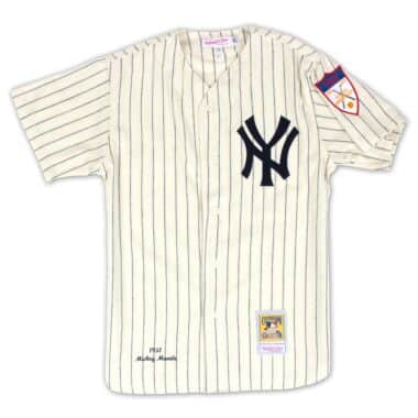 Authentic Jersey New York Yankees Home 1951 Mickey Mantle aa03e3c4693