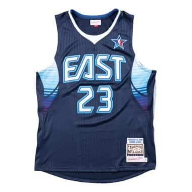 0e7b2d009 Authentic Jersey All-Star East 2009 Lebron James