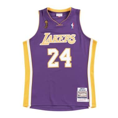 6120e0ad009 Authentic Jersey Los Angeles Lakers Road Finals 2008-09 Kobe Bryant
