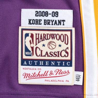 01167165232 Authentic Jersey Los Angeles Lakers Road Finals 2008-09 Kobe Bryant ...