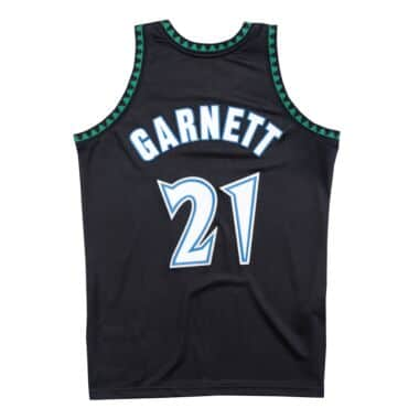 Authentic Jersey Minnesota Timberwolves Alternate 1997-98 Kevin Garnett 0fad4a808