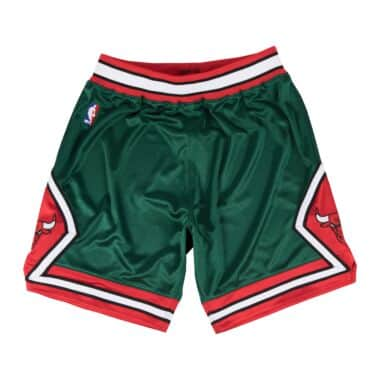 5735982944a Authentic Shorts Chicago Bulls Green Week 2008-09