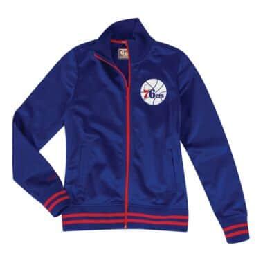 Women s Track Jacket Philadelphia 76ers 6b13655cfb