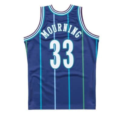 dae34d0ea02 Authentic Jersey Charlotte Hornets Alternate 1994-95 Alonzo Mourning · View  Details. Select a Size
