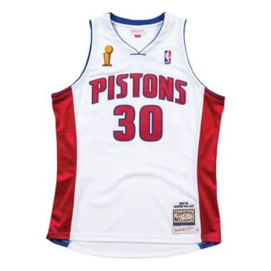 59ee6e057 Authentic Jersey Detroit Pistons Home Finals 2003-04 Rasheed Wallace