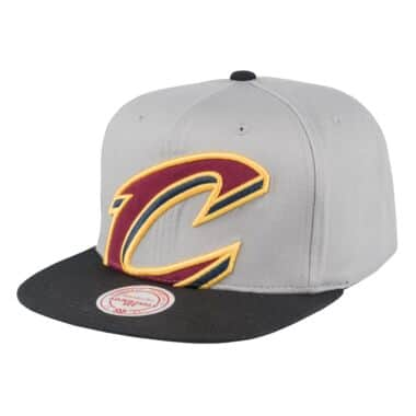 buy popular e8673 f21ba Cropped Split Heather Snapback Cleveland Cavaliers