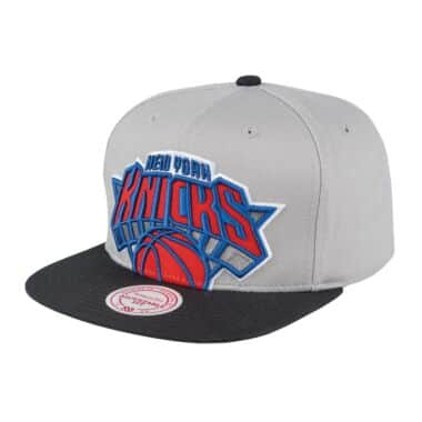 d21b14ba1 Cropped Split Heather Snapback New York Knicks