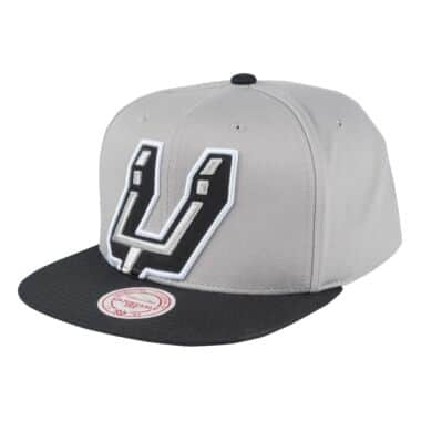 best website cc399 6e7e3 Cropped Split Heather Snapback San Antonio Spurs