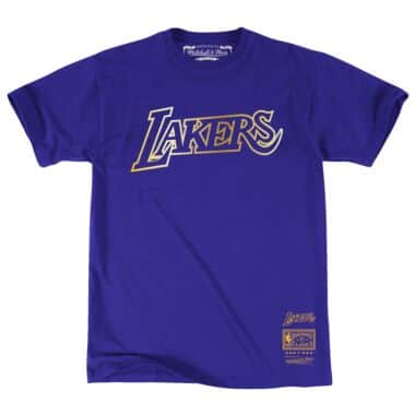 new product c8014 92a72 Team Gold Tee Los Angeles Lakers
