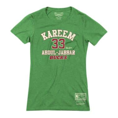 1609e251f82 Women s Classic Tee Milwaukee Bucks - Shop Mitchell   Ness Shirts ...