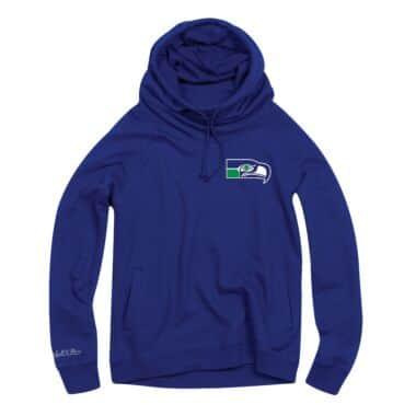 info for 994ea c08af Women s Funnel Neck Hoody Seattle Seahawks