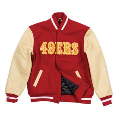 df44f4a88c4 Authentic Wool Varsity Jacket San Francisco 49ers
