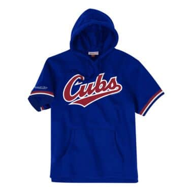 French Terry Short Sleeve Hoody Chicago Cubs eee37af68a