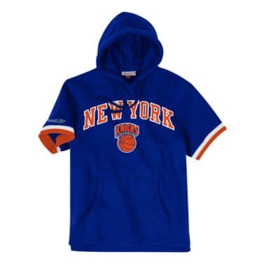 b49b99e49f7 French Terry Short Sleeve Hoody New York Knicks