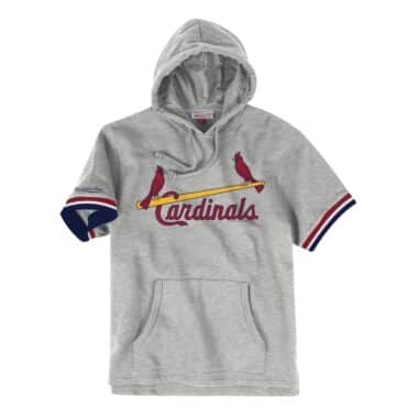 French Terry Short Sleeve Hoody St. Louis Cardinals 1a3b5ef8f61f