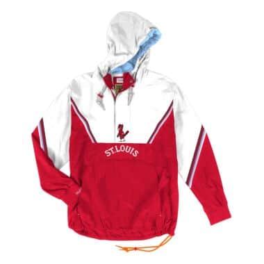 the latest 922f1 d00e3 Half Zip Anorak St. Louis Cardinals