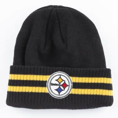 006e69dc5d1 Cuffed Knit Pittsburgh Steelers