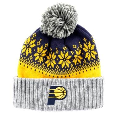 innovative design 2648a 10254 Artic Snowflake Cuffed Pom Indiana Pacers