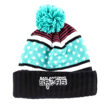 d70fb0aff The Highlands Cuffed Pom Beanie San Antonio Spurs