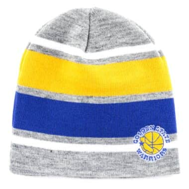 a58eb0ba416 Athletic Grey Knit Golden State Warriors