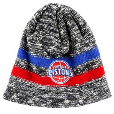 new arrival 0f3f8 64aac Static Team Stripe Beanie Detroit Pistons